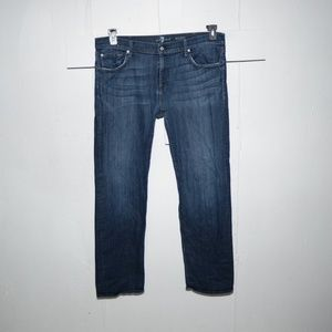 7 for all mankind mens jeans size 40 x 33 J44